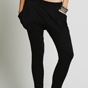 Free people black Joggers